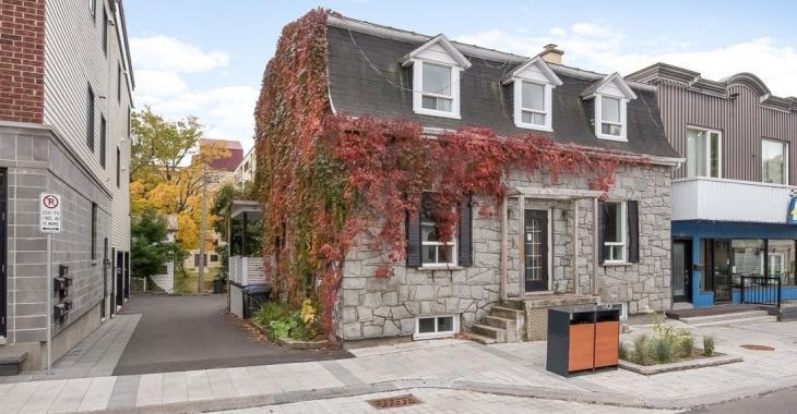 Coquette maison centenaire de 14 pièces vendue 6500$ sous l'évaluation