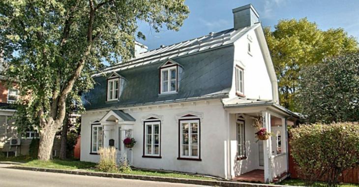 Cette magnifique maison ancestrale cache une agréable surprise à l'intérieur.