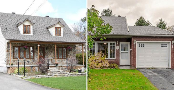 Cinq maisons à vendre à bas prix dans la ville la plus heureuse du Québec