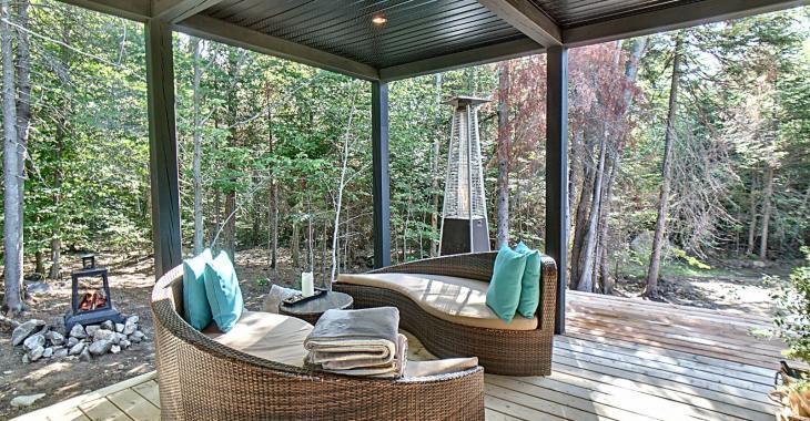 Splendide chalet-maison moderne, lumineux et complètement meublé à un prix très abordable