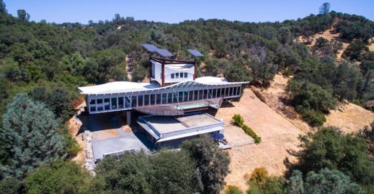 Une «maison épave» de rêve unique au monde est à vendre