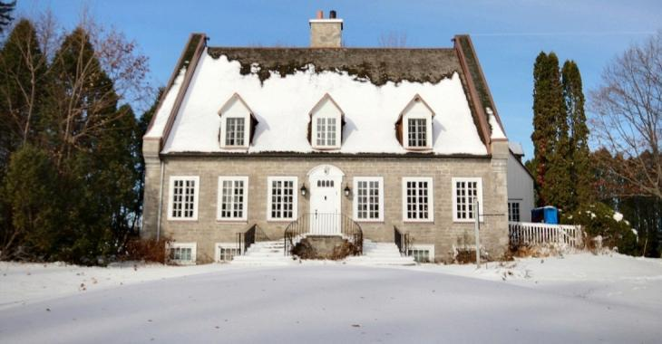 Spectaculaire résidence historique de 1790 dans la région de Québec
