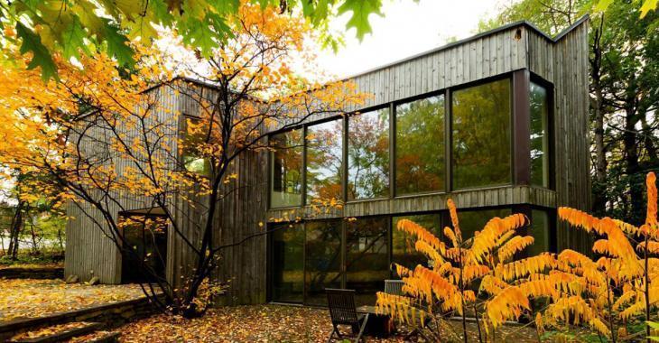 Cette maison atypique ayant appartenu à la famille Daudelin est en vente pour 2 688 000$
