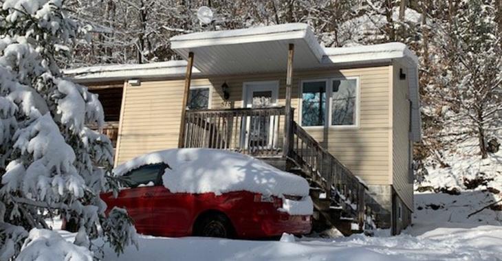 Petite maison à moins de 60 000 $ parfaite pour un couple ou une personne seule
