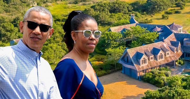 À voir! La nouvelle maison des Obama qui leur a coûté 11,75 millions est un paradis sur Terre