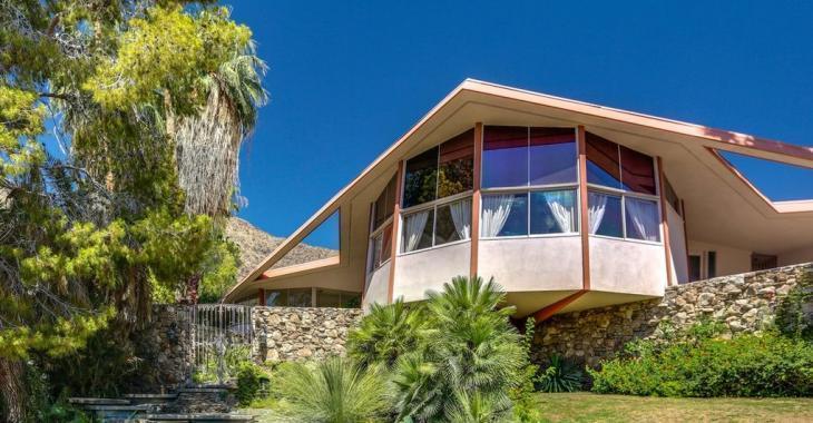 À vendre à prix réduit : l'étonnante maison louée par Elvis au milieu des années 60