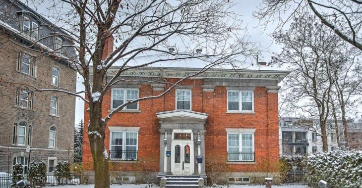 À vendre : imposante résidence patrimoniale au coeur de Montréal... une rareté sur le marché!