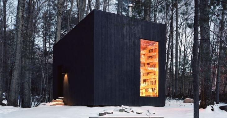 Cette intrigante cabane secrète dans la forêt est un lieu de rêve pour les bibliophiles