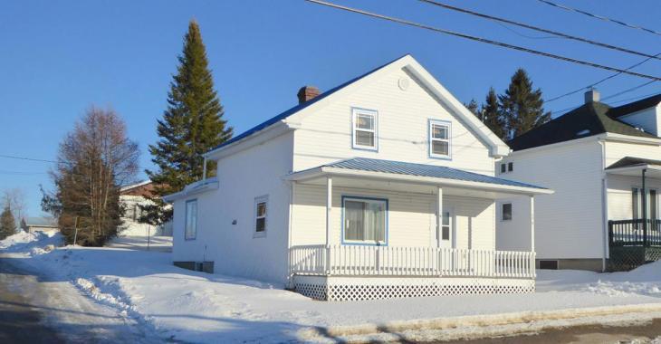 Maison de 3 chambres à moins de 86 000$ pour une famille avec un petit budget