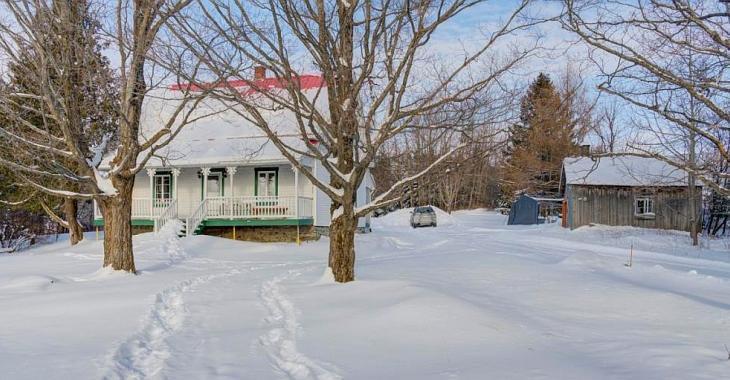 Charmante maison de campagne en Beauce sur un immense terrain sans voisin, l'intimité à l'état pur!