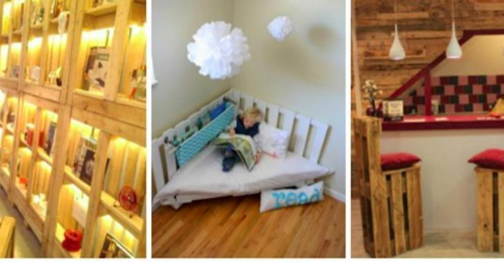22 choses à fabriquer avec du bois de palettes, pour l'intérieur et l'extérieur de la maison