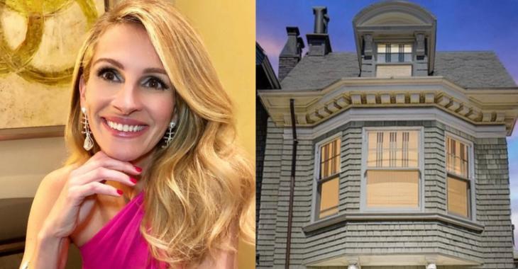 Julia Roberts s'offre une magnifique maison à San Francisco pour 8,3 M$