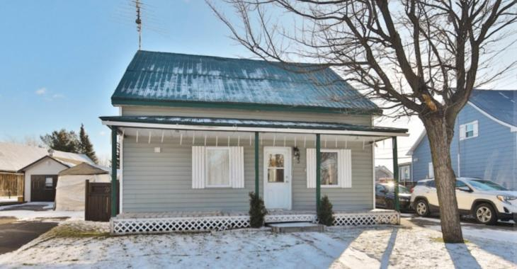 Charmante maison ancestrale à vendre pour seulement 119 000$ en Montérégie