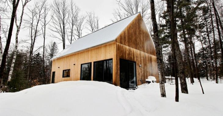 Demeure au charme scandinave vous offrant le calme, une architecture élégante et l'accès à un lac