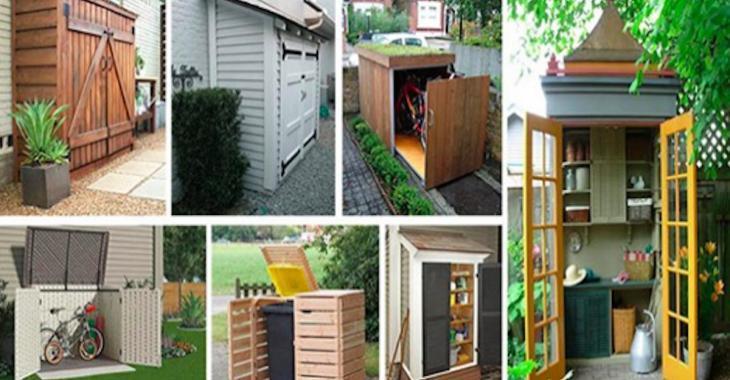 15 petits projets de remise pour le jardin