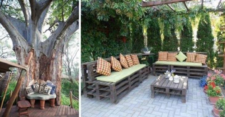 10 belles idées pour aménager un coin détente à l'extérieur