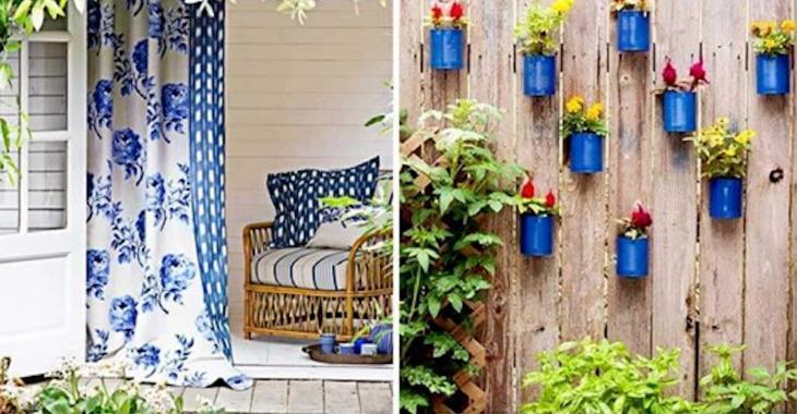 20 superbes idées pour décorer un petit patio