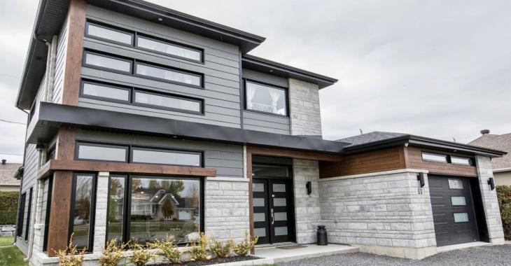 Découvrez le superbe intérieur de cette maison contemporaine