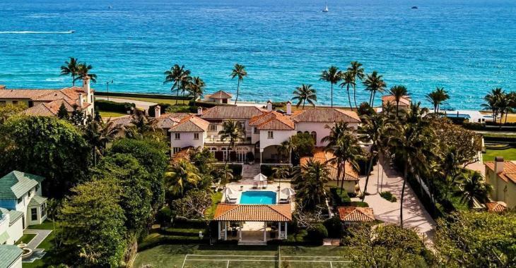 L'ancienne villa de Palm Beach acquise par Yoko Ono et John Lennon en 1980 est à vendre