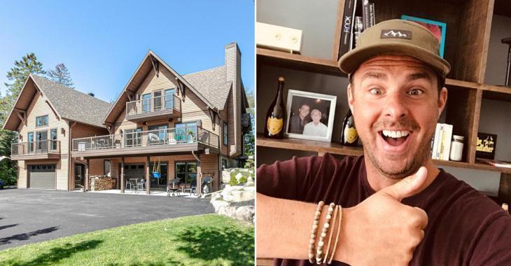 Philippe Bond vend sa splendide maison de Sainte-Adèle