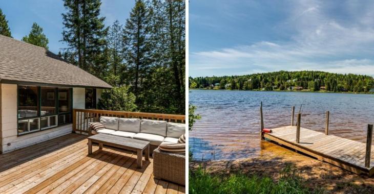 Vivez les vacances à l'année dans cette maison-chalet au bord d'un lac paisible et qui vous rappellera le bon vieux temps
