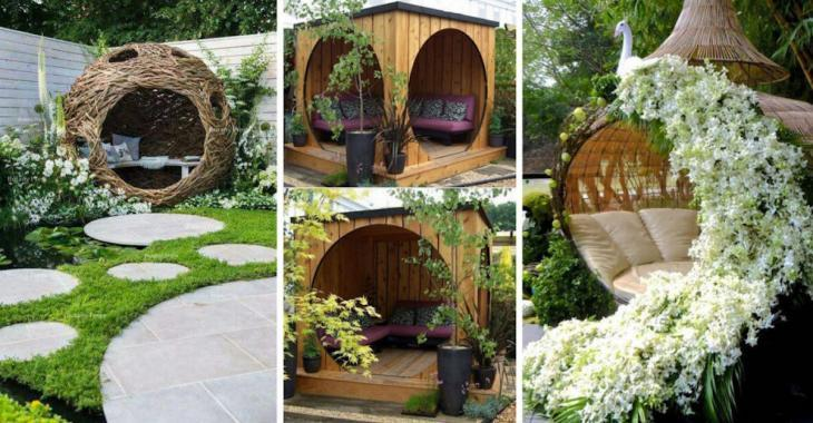 20 suggestions de petits refuges personnels à installer dans votre jardin