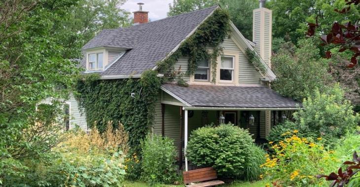 Charmant cottage de 1923 qui vous offre la sérénité de la campagne avec son vaste terrain sans voisins