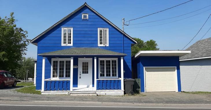 Coquette maison de 3 chambres dans l'une des plus belles régions du Québec à moins de 90 000$