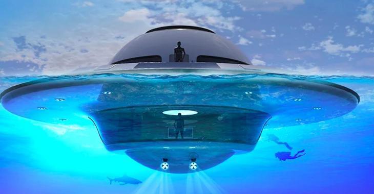 Que diriez-vous d'habiter un OVNI flottant?