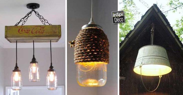 21 luminaires faits maison qui sortent de l'ordinaire
