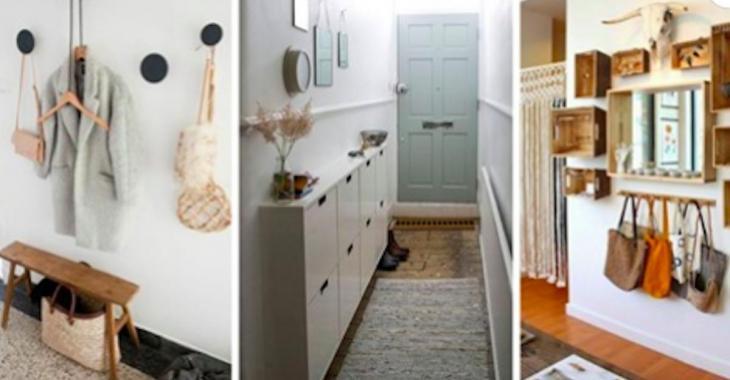 12 idées simples et jolies pour aménager une petite entrée
