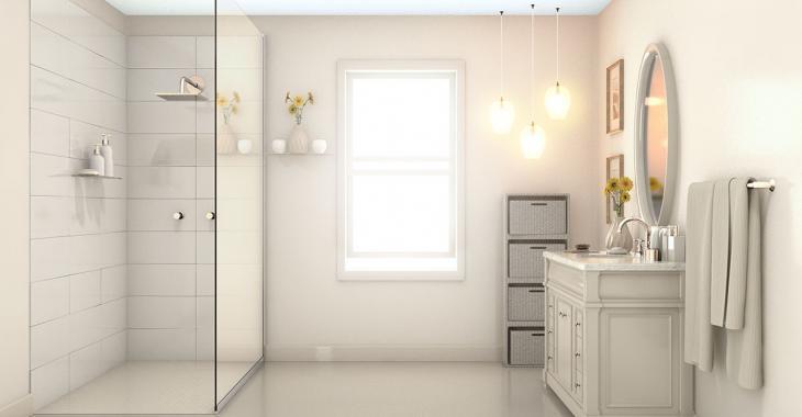 Salle de bain: 10 trucs de designers pour la faire paraître plus grande