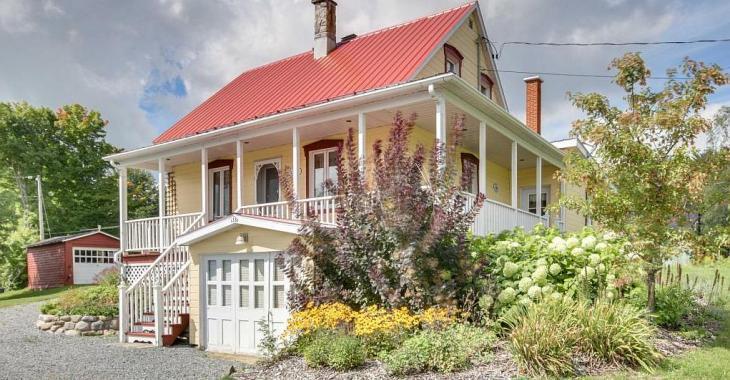 Splendide ancestrale et son grand terrain champêtre à vendre pour 179 900$