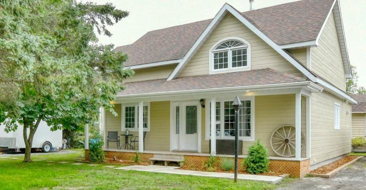 Devenez propriétaire d'une superbe maison de style farmhouse pour 249 900 $