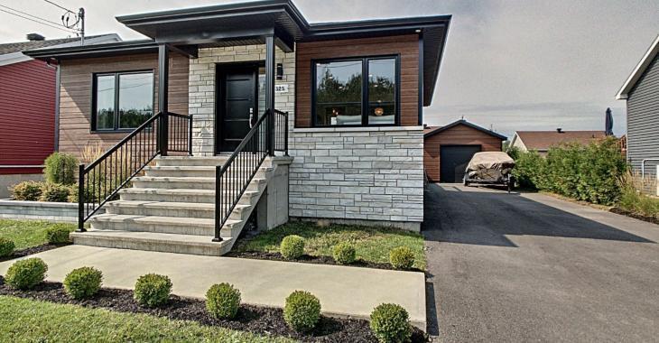 Magnifique bungalow contemporain à vendre pour 265 000 $