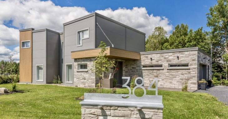 Cette magnifique propriété rend hommage à l'architecture moderne