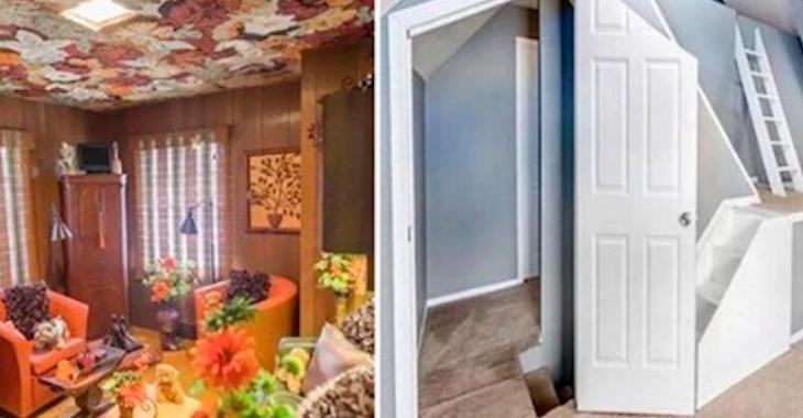 20 photos étranges prises par des agents immobiliers