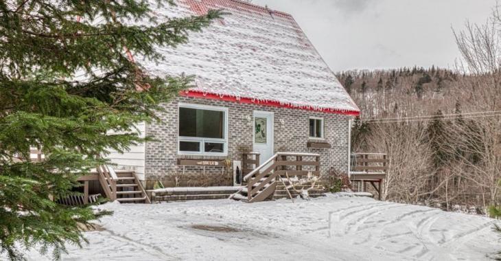 Chaleureuse demeure à 250 000$! Nichée en forêt, elle possède 3 chambres, une superbe salle de bain et une foule d'attraits
