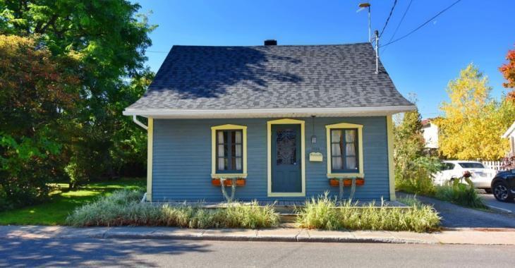 Coquette maison d'époque du Vieux Sainte-Rose à vendre pour 249 900 $