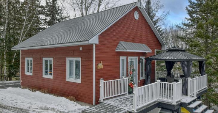 On a rénové l'intérieur de cette sympathique maison de 275 000 $ et le résultat est tout à fait charmant