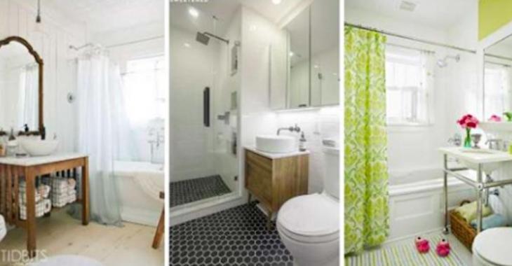 12 formidables transformations de salles de bain