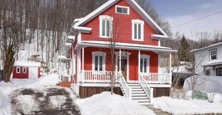 Chaleureuse maison ancestrale de 234 900 $ avec une superbe salle de bain rénovée au goût du jour