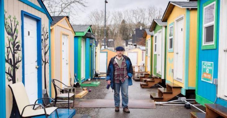 Dans la ville de Seattle, on a aménagé des villages pour les itinérants