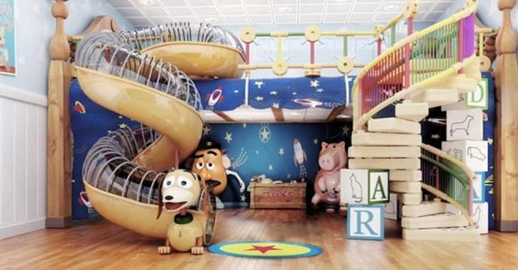 27 chambres d'enfants décorées de façons extraordinaires