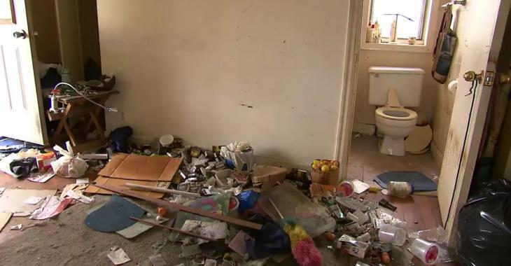 Des appartements laissés dans un état complètement insalubre par d'anciens locataires