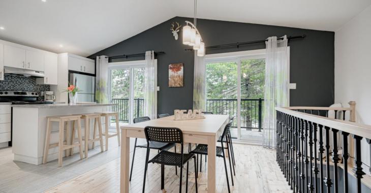 Venez découvrir les autres pièces de cette ravissante maison rénovée de 389 000 $