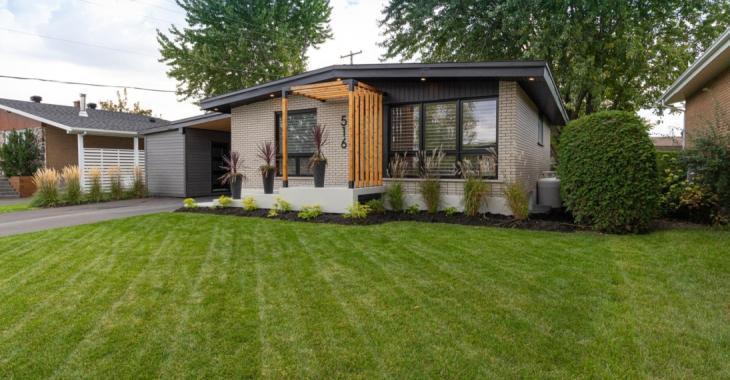 Métamorphosée à la perfection; cette maison de 1965 impressionne avec son nouvel intérieur!