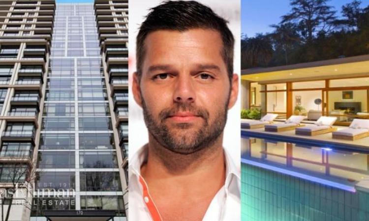 Ricky Martin vend son «petit» condo de New York pour s'acheter un luxueux manoir à Los Angeles et les photos montrent tout!!