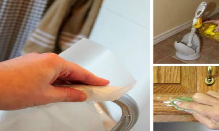 Votre maison n'aura jamais été aussi propre! 15 astuces de nettoyage qui feront le bonheur des maniaques de propreté
