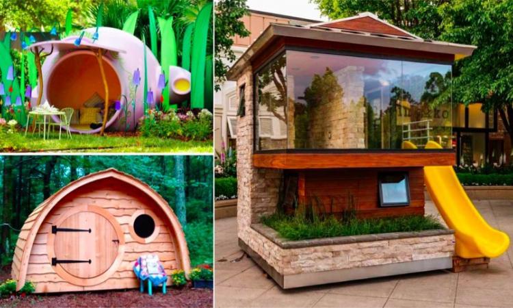 Ces maisonnettes pour enfants sont vraiment originales!